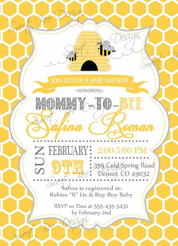 Baby Shower Text Invitation is awesome invitation example