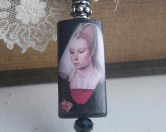 Portrait of a Lady Pendant