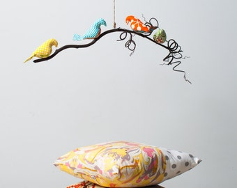 Joseph(ine) Collection - Single or Double Tier Bird Mobile