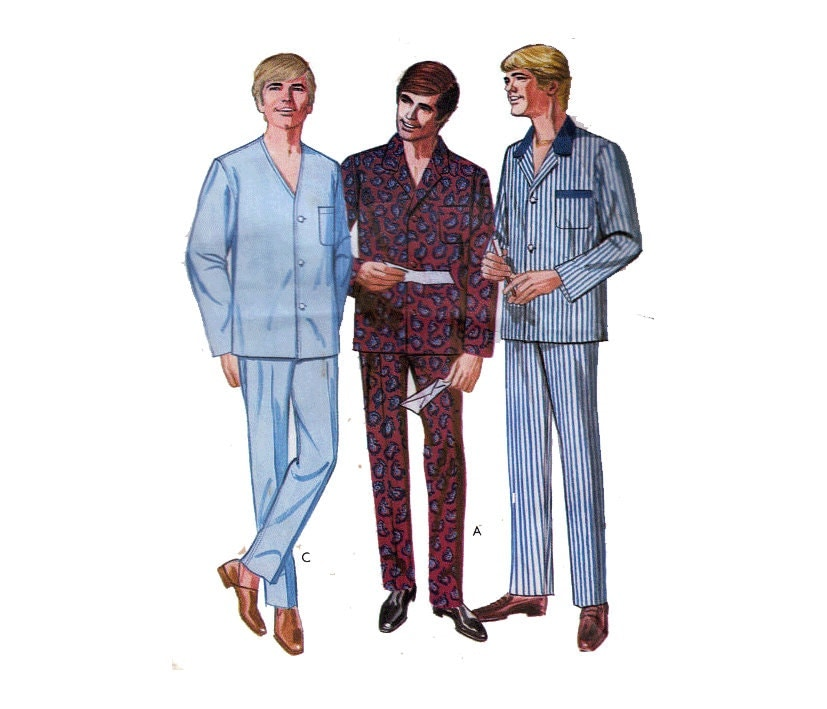 See all results for mens pajama pattern. Simplicity 2 Hour Sleepwear Pattern Women's and Men's Pants or Shorts and Robe Chest Size XL-XXL-XXXL by Simplicity Patterns.