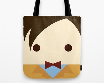 11th doctor, Matt Smith,  tote bag, bag,