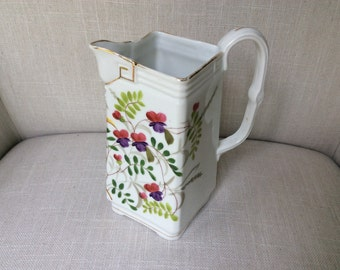 Hand Painted Porcelain Pitcher