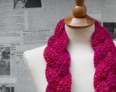 Pi's Pink Panther - Braided Scarf