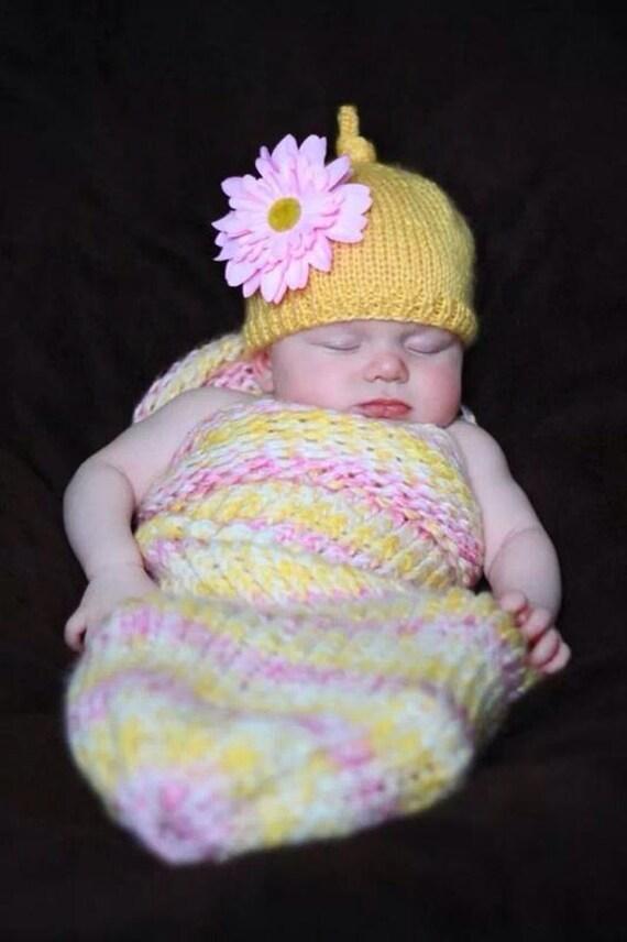 Infant Snuggle Sack and Hat Set