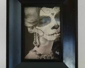 Elegant Sugar Skull Art