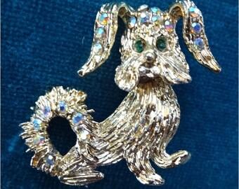 Adorable dog Brooch