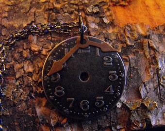 Steam Punk Watch Necklace