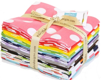 Basics Medium Dots Fat Quarter Bundle by Riley Blake