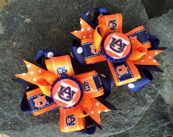Auburn Piggy Set Hairbows