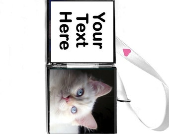 """Cat Charm Pet Lover, Pet Personalized Locket """"Awesome.Patti gives the best customer service.I highly recommend her!"""" FREE SHIPPING USA"""