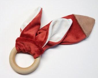 älskar baby OBV Red Fox Teether and Lovie Gift Set