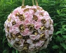 Wedding Pinata, Anniversary Piñata, Bridal Shower Pinatas, Paper Flowers, Flower Pomander