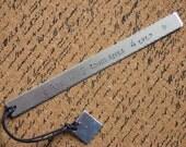 Custom Bookmark for Teacher-Christmas gift for Teacher-Under Twenty-Holiday Gift for Preschool Teacher-Personalized Bookmark for Teacher