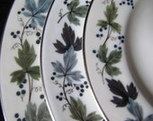 SOLD JOY  Set of Burgundy pattern by Royal Doulton