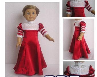1904 Bolero Dress Pattern for American Girl Doll - PDF INSTANT DOWNLOAD