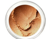 SALE NUTMEG - Mineral Eyeshadow Mineral Makeup - Pure & Natural Mineral Eye Color Pigment - Noella Beauty Works