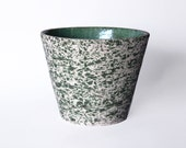 Vintage  German Green Planter  - 70s