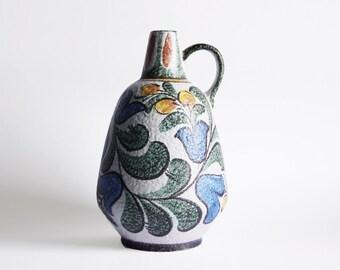Vintage Collectors Item Tall Vase Ruscha Enzian 320/4  50s