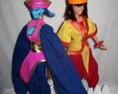 DARKSTALKERS Hsien-Ko + Mei Ling Barbie Dolls MvC3