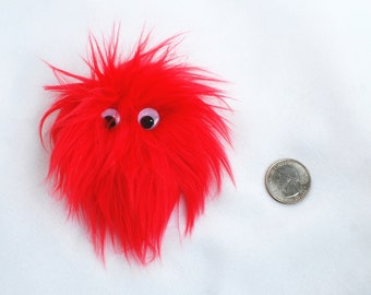 Red Monster Fridge Magnet