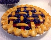 Seasonal Blueberry  Pie Candle-9 inches