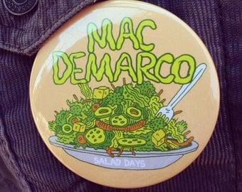 Mac Demarco Salad Days Button