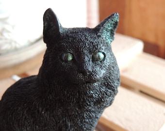 CAT SOAP, Lil Black Cat - Scented in Black Raspberry Vanilla - Handmade  Vegtable Based