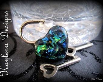 Heart Lock, working lock, lock and key  Love Lock