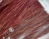 Golden Berry Silky Kanekalon Jumbo Braid - Black n Gold - 100% High Quality KK Synthetic Hair - Dreads, Braids, Extensions, Falls, etc..