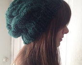 Chunky Green Hat