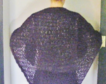 Made to order crocheted shawl
