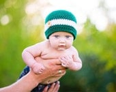 Michigan State Football Beanie Hat (fits newborn to adult)