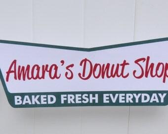 Krispy Kreme Donut Party Banner