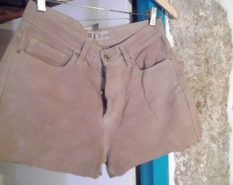 "VINTAGE 90s SHORTS, 76 cm, 30"" waist, cut offs, women, hipster,made in Portugal"