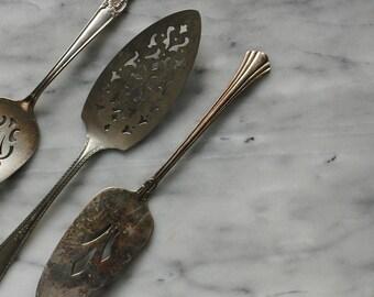 Vintage Silver Plate Dessert Server, Pie Server, Cake Spatula