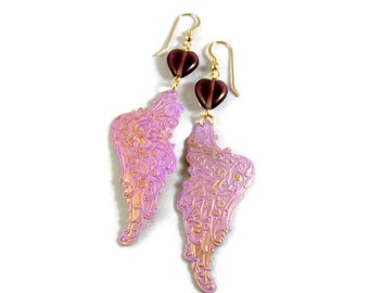 Hearts on the Wing Earrings