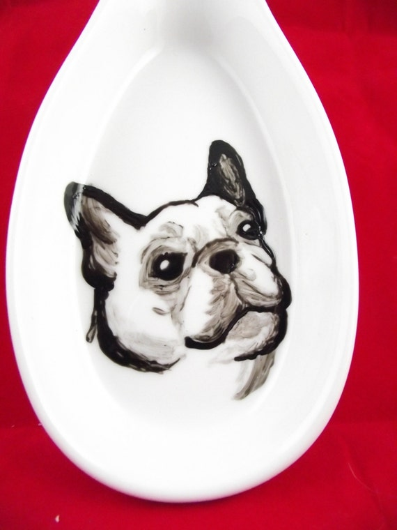 Amazon.com: french bulldog spoon rest