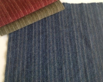 Wool for Rug Hooking and Applique,  Coverlet Blue, Select a Size, J828