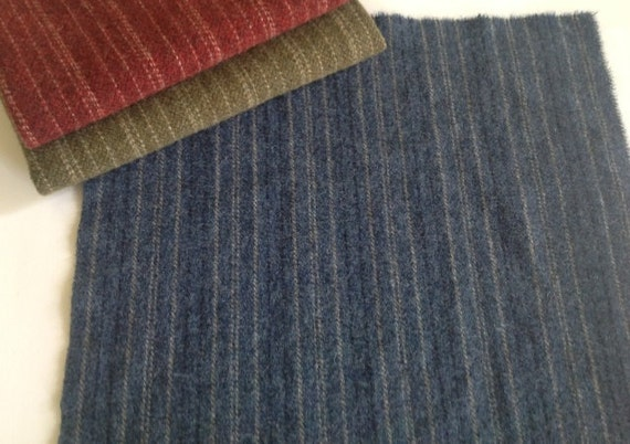 Coverlet Blue, Wool for Rug Hooking and Applique, Select a Size, J828