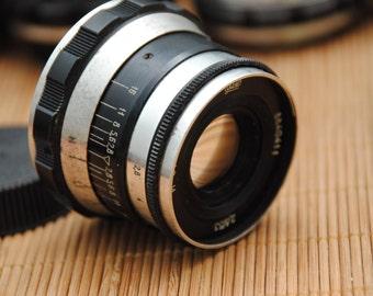 1988 Vintage ZEBRA Industar 61 2.8/52mm Leica screw M39 Zorki FED RF Ukrainian Lenses