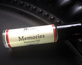 MEMORIES Premium Artisan Perfume Oil ~ nag champa, sage, oats, honey ~ Free from alcohol, parabens, preservatives ~ gift or travel