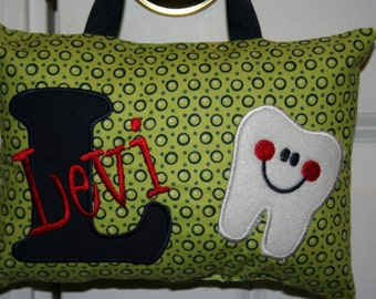 Boys Tooth Fairy Pillow - Personalized