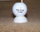Golf Ball tooth pick holder