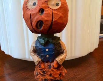 Halloween Folk Art Bobblehead