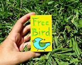 Itty Bitty Wood Block Free Bird Lynyrd Skynyrd