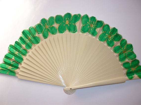 WEDDING Brides Alternative Bouquet SIZE OPTIONS Any Color Flower Handheld Folding Fan Made to order