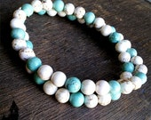 Aquatica - Created Howlite necklace