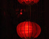 Asian Lanterns  Aglow