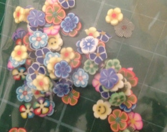 100+ Polymer Clay/Fimo Cane Nail Art Slices