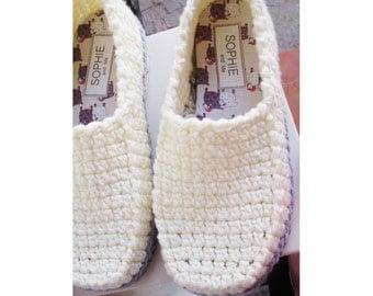 Winter Loafer Crochet Pattern Slippers - Basic Crochet Pattern - Instant Download Pdf
